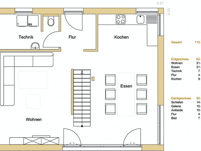 Design 112 Floorplan 1