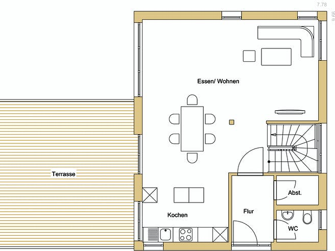 Design 120 Floorplan 1