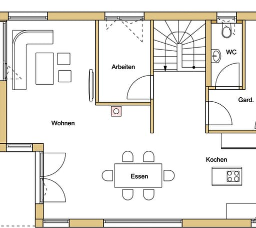 Design 140 Floorplan 1