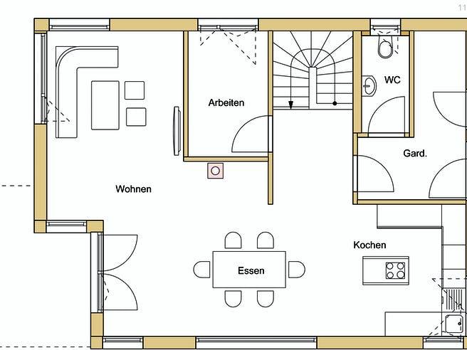 Design 140 Floorplan 1