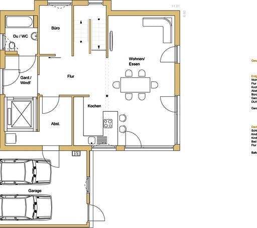 Design 170 Floorplan 1