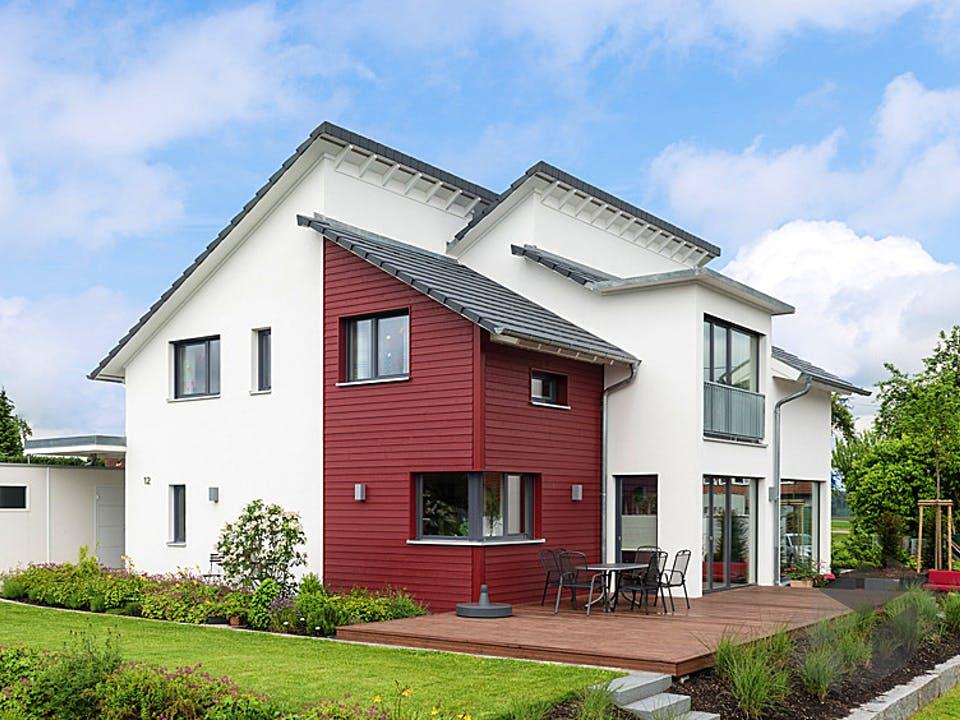 D183 Eisele von Frammelsberger Holzhaus Außenansicht