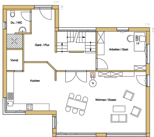 Design 182 Floorplan 1