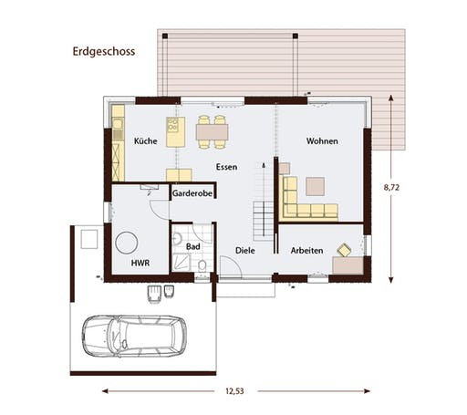 Design 183 Floorplan 1