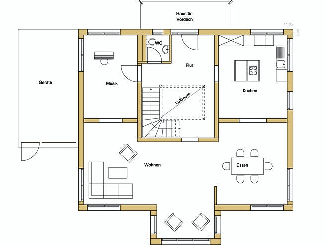 Design 237 Floorplan 1