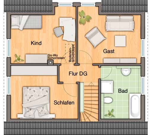Flair 113 Trend Floorplan 2