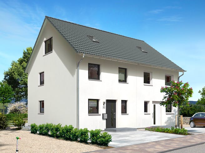 DH Mainz 128 von Town & Country Haus Außenansicht 1