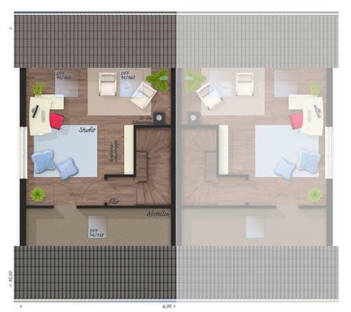 Mainz 128 Doppelhaus Elegance Floorplan 3