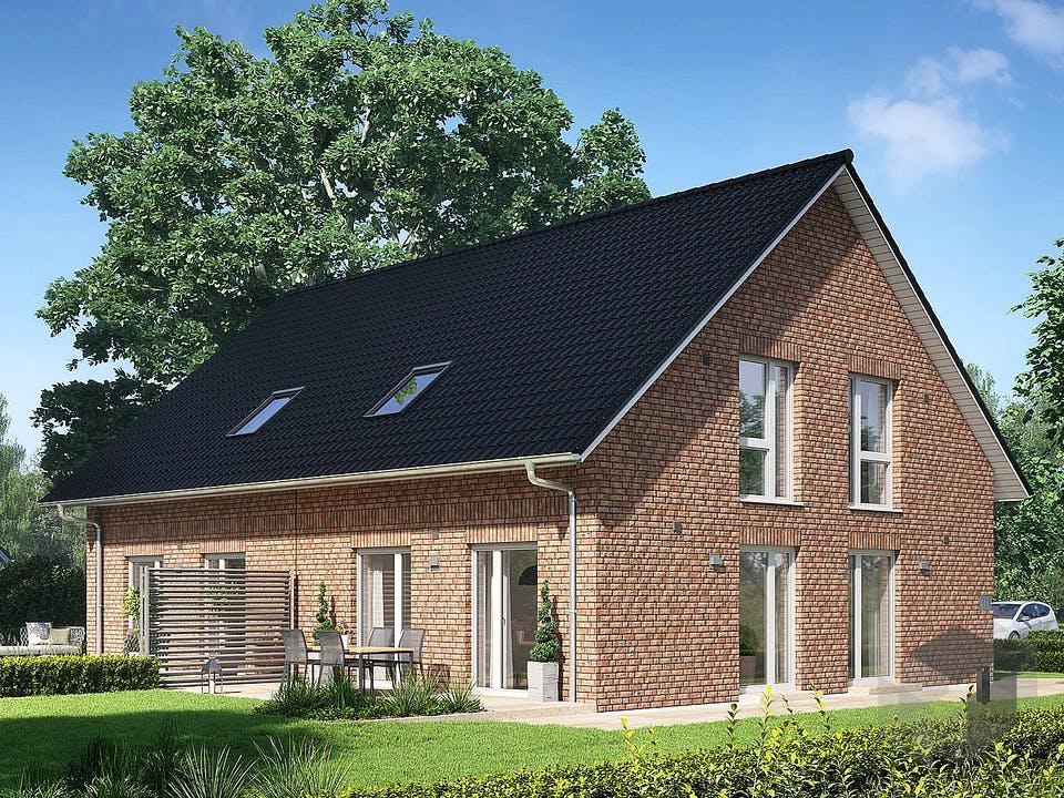 Doppelhaus V4 von Viebrockhaus Außenansicht