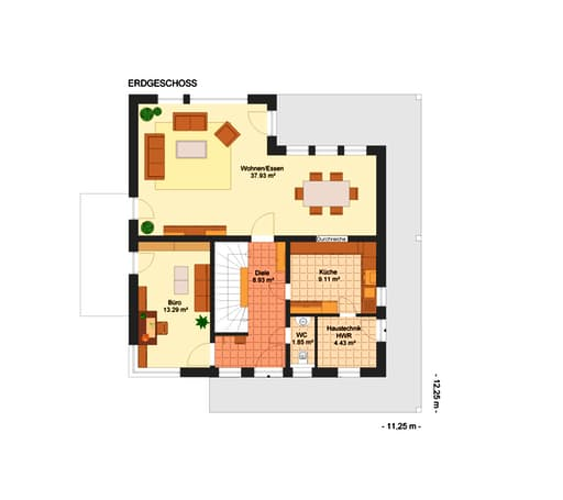 Domenika 220 inactive von kowalski haus komplette for Floor plans for 160 000