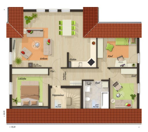 Domizil 192 Trend Floorplan 2