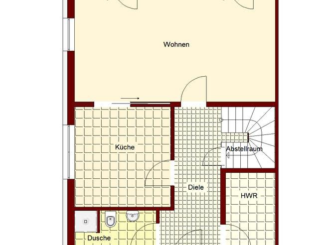 Doppelhaus Mainz Floorplan 1