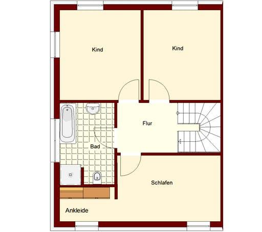 Doppelhaus Mainz Floorplan 2