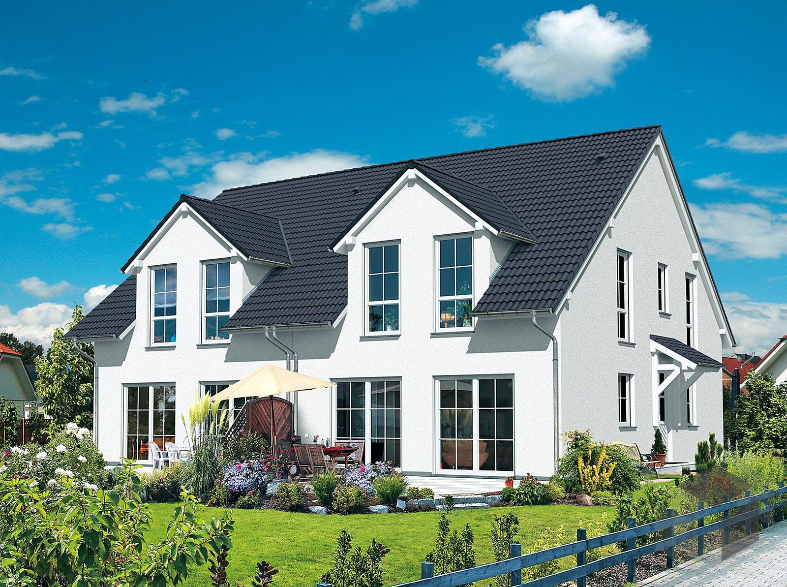 doppelhaus inactive von hefa holz massivhaus komplette daten bersicht. Black Bedroom Furniture Sets. Home Design Ideas