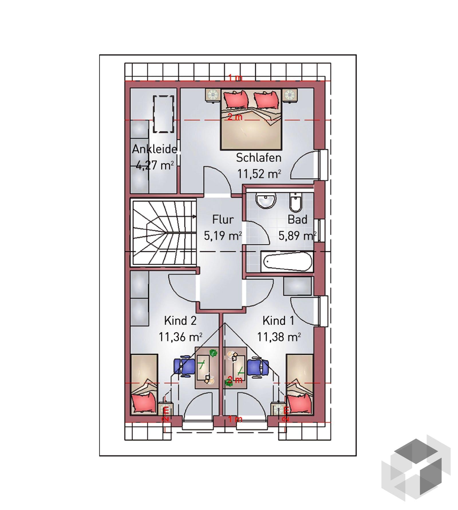 Doppelhaus Von HEFA Holz- & Massivhaus