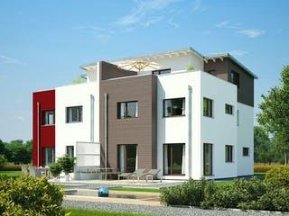 Doppelhaus 144 von Hanse Haus Außenansicht 1