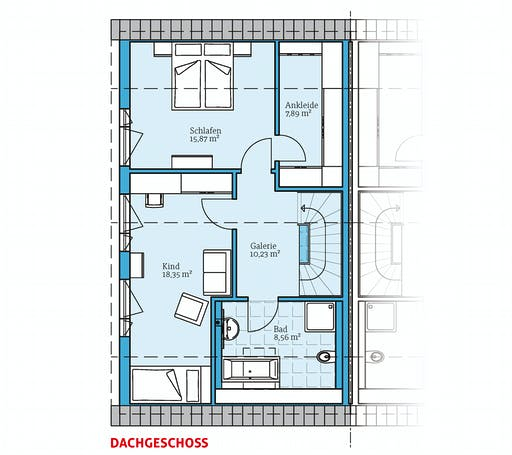 Hanse - Doppelhaus 35-124 Floorplan 2