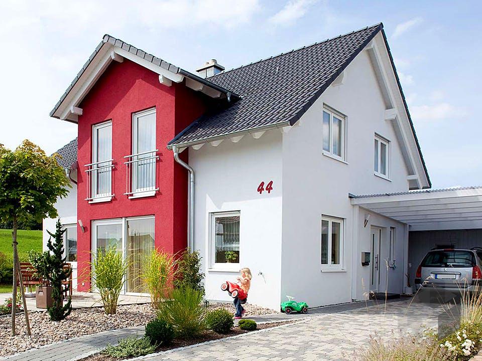 Haus Blum von Dümer Haus Außenansicht