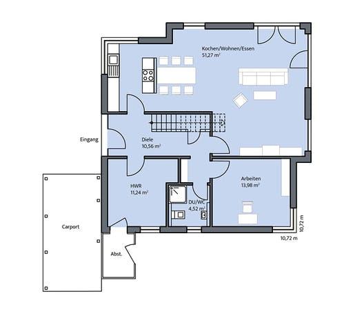 Dümer - Freiberger Floorplan 1