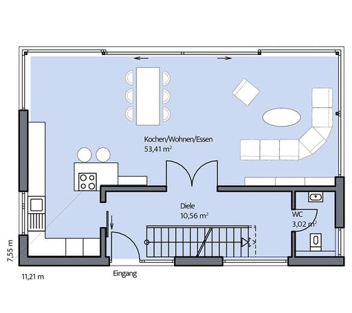 Dümer - Zacher Floorplan 1