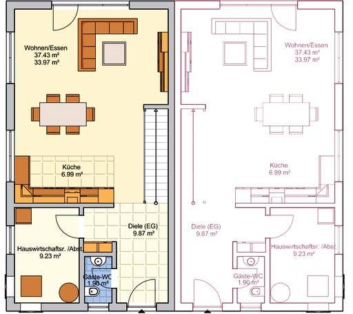 Duett 125 Floorplan 1