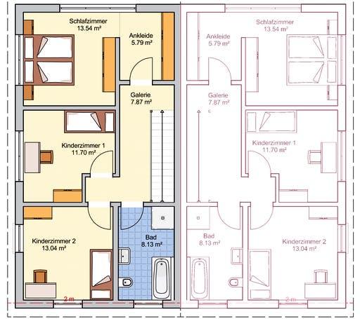 Duett 125 Floorplan 2
