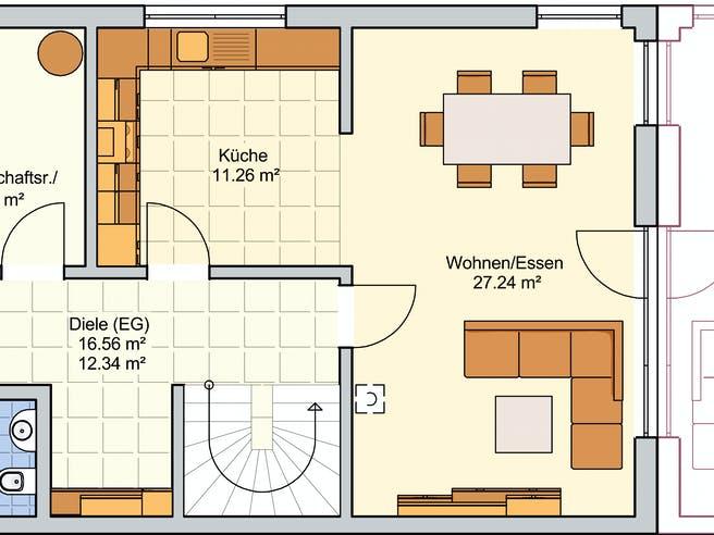 Duett 128 Floorplan 1