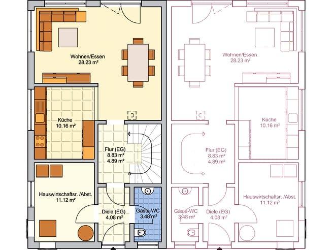 Duett 129 Floorplan 1