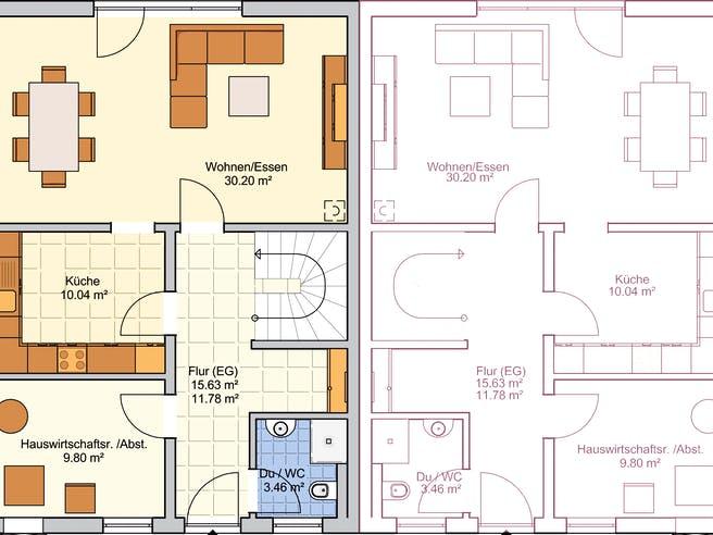 Duett 134 Floorplan 1