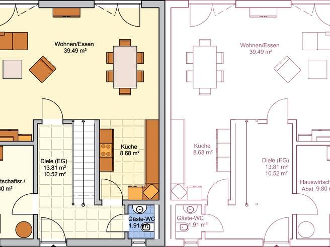 Duett 141 Floorplan 1