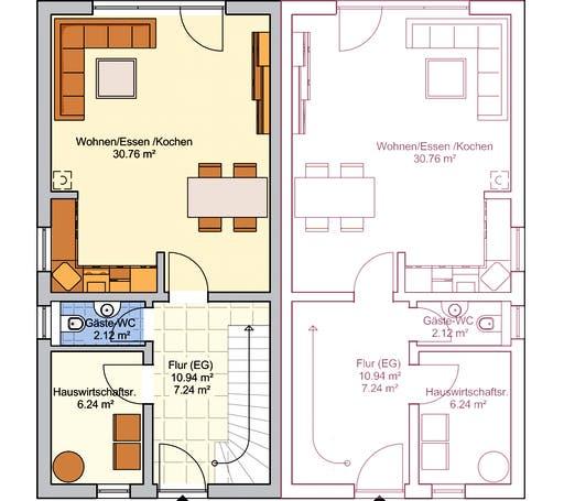 Duett 96 Floorplan 1