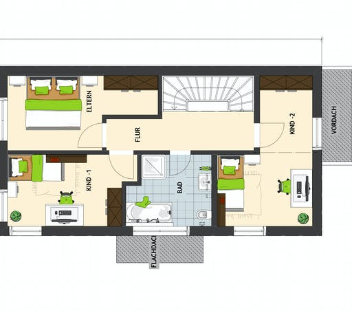 DUO 100 V1 Floorplan 2
