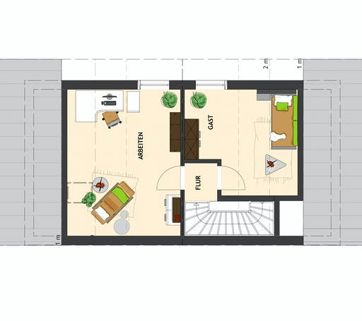 DUO 100 V2 Floorplan 3