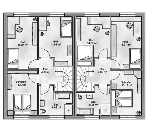 Aurea - Duplex Floorplan 2
