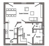 E 15-124.3 - Großzügiges Wohnen Grundriss
