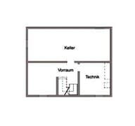 E 15-143.18 - Haus mit Pultdach Grundriss