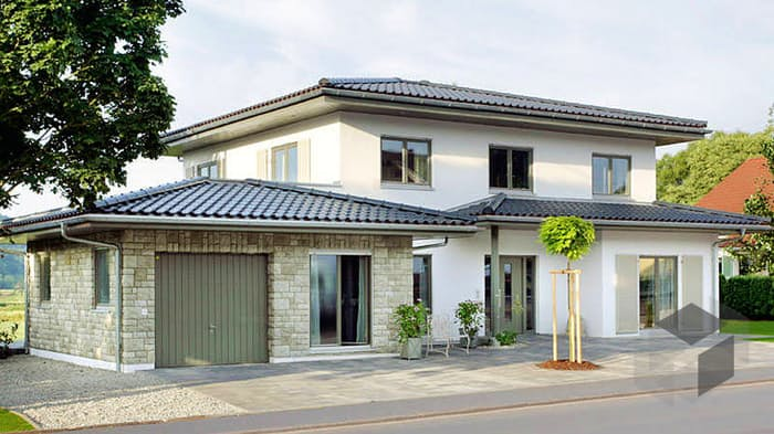 Fertighaus stadtvilla garage  E 20-201.1 von SchwörerHaus | komplette Datenübersicht - Fertighaus.de