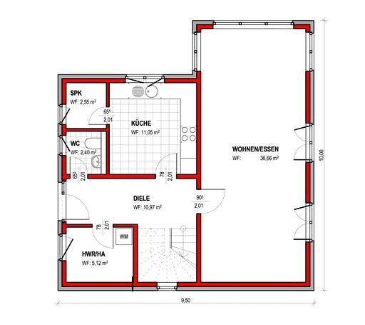 BK Bau-Konzept E300 Floorplan 1