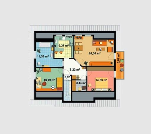 EBH 3 mit Einliegerwohnung floor_plans 0