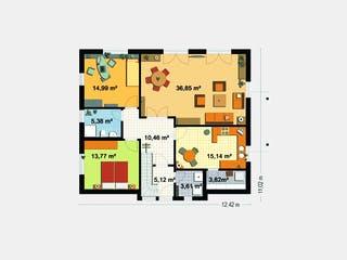 EBH 3 mit Einliegerwohnung von EBH Haus Grundriss 1