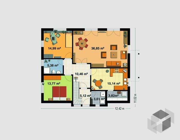 EBH 3 mit Einliegerwohnung von EBH Haus | komplette Datenübersicht ...