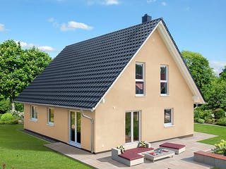 Einfamilienhaus A 2 L 45° von EBH Haus Außenansicht 1