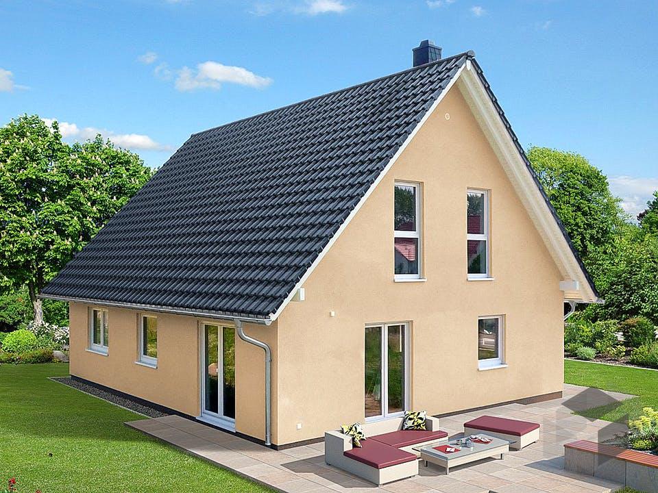 Einfamilienhaus A 2 L 45° von EBH Haus Außenansicht