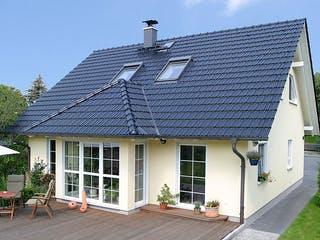Einfamilienhaus A 3 Edition 500 von EBH Haus Außenansicht 1