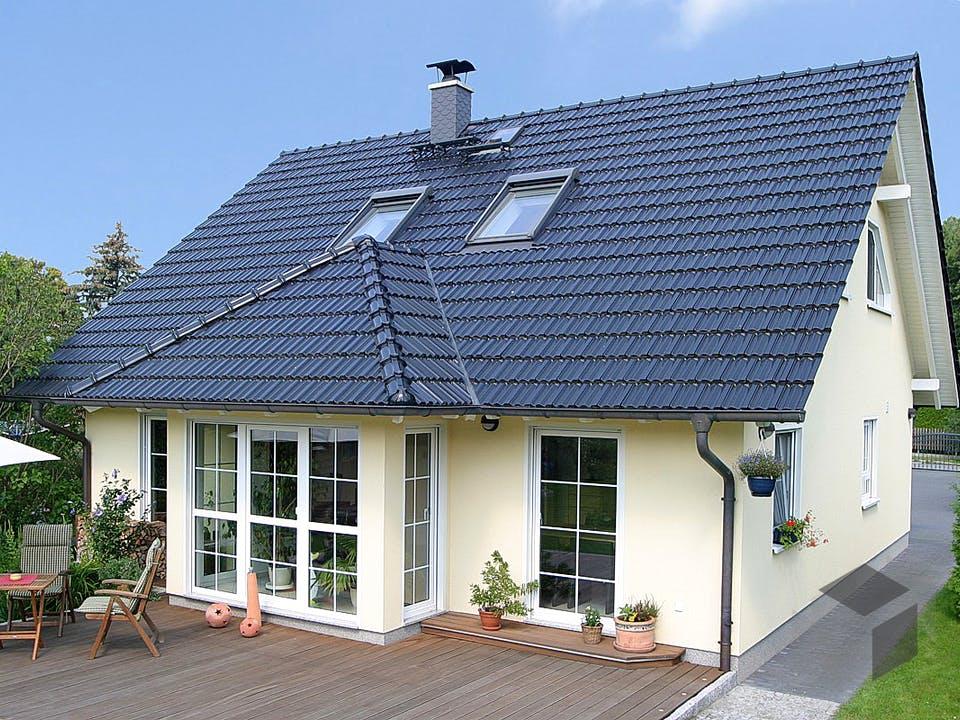 Einfamilienhaus A 3 Edition 500 von EBH Haus Außenansicht