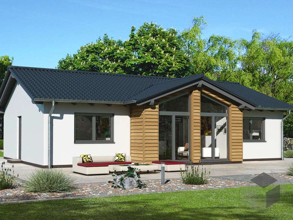 Haus für Drei von EBH Haus Außenansicht