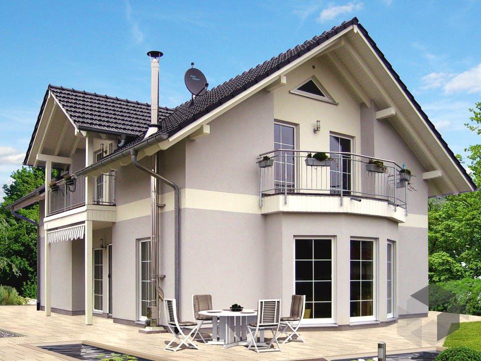 Einfamilienhaus Heideland 2 von EBH Haus Außenansicht