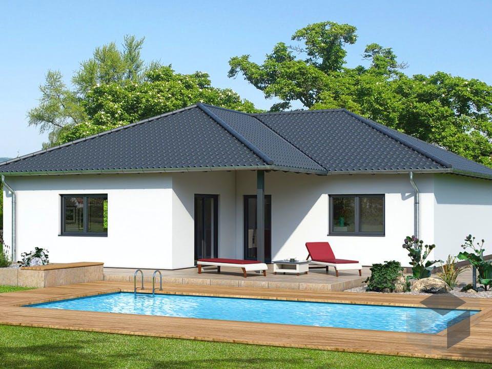 Kompakt 4 Plus 1 von EBH Haus Außenansicht