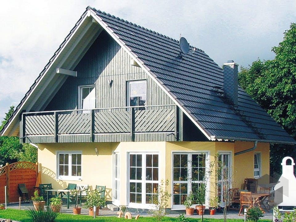 Einfamilienhaus Maxx 2/4 von EBH Haus Außenansicht