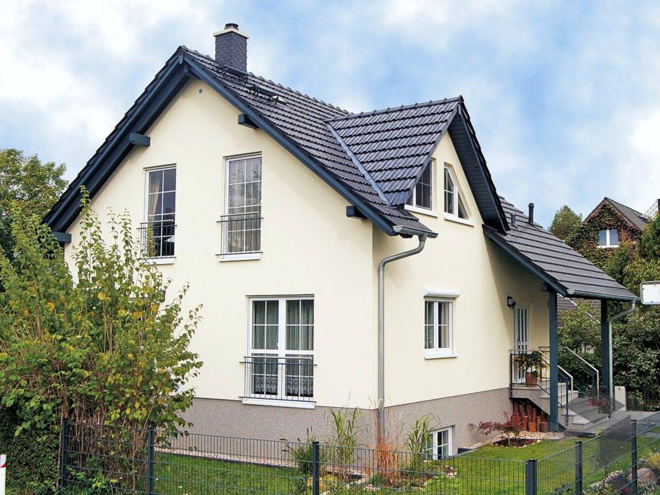 Einfamilienhaus Maxx 3/3 von EBH Haus Außenansicht